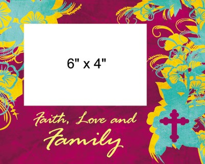 Faith Love Family Photo Frame  -