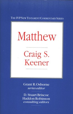 Matthew Volume 1   -     By: Craig S. Keener