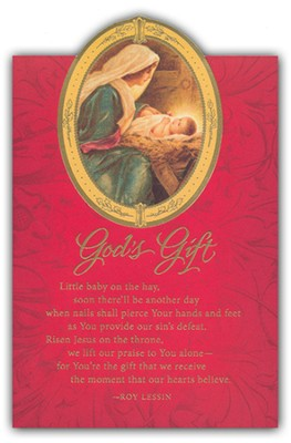 God's Gift Christmas Cards, Box of 18  -
