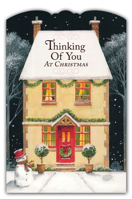 Thinking of You Christmas Cards, Box of 18  -
