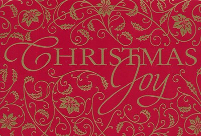 Christmas Joy Christmas Cards, Box of 18  -