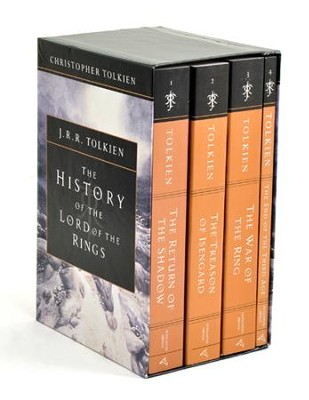 The History of the Lord of the Rings: Boxed Set   -     By: J.R.R. Tolkien