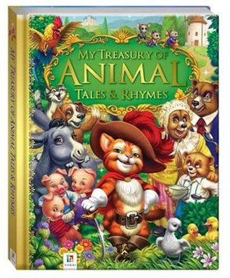 My Treasury Of Animal Tales & Rhymes   -