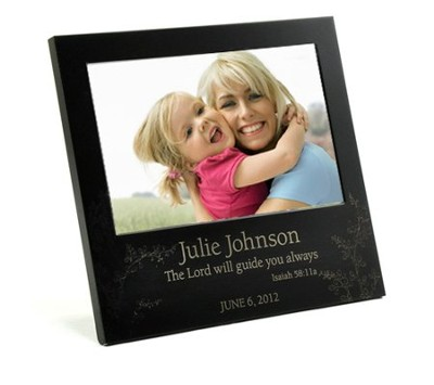 Personalized, Lord Will Guide You Photo Frame   -