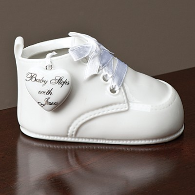 Baby Steps with Jesus Baby Bootie  -