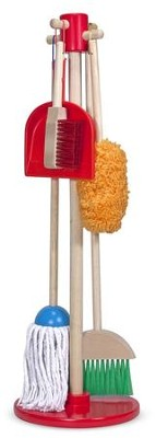 Let's Play House! Dust, Sweep, and Mop Set   -