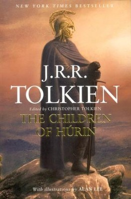 The Children of Hurin, Paperback   -     By: J.R.R. Tolkien