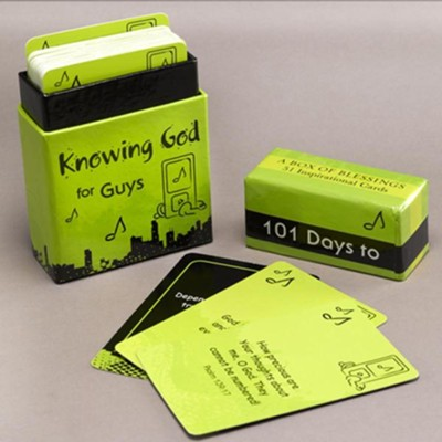101 Days to Knowing God for Guys, Box of Blessings  -