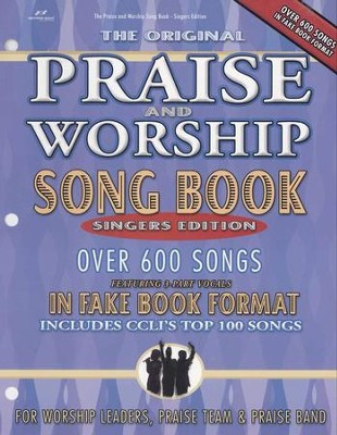 The Original Praise & Worship Songbook, Singers Edition   -