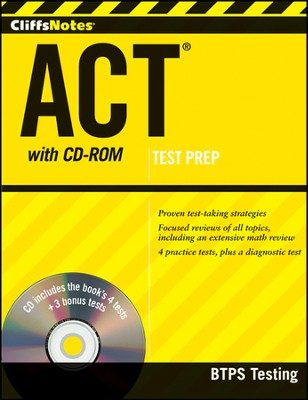 CliffsNotes ACT with CD-ROM  -