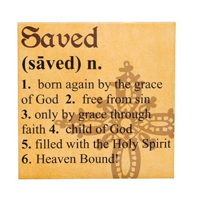 Saved Definition Print, 12 Square   -