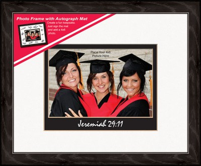 Graduate Photo Frame Jeremiah 29:11 (horizontal)   -