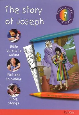 Bible Colour and Learn: 07 The Story of Joseph  -