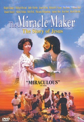 The Miracle Maker: The Story of Jesus DVD   -