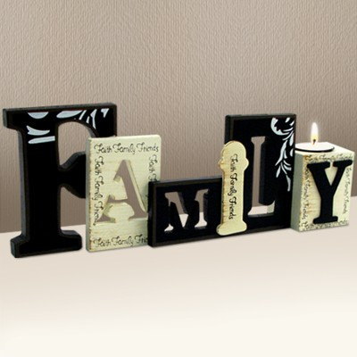 Family Tea Light Holder  -