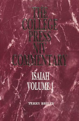 Isaiah Vol. 1: The College Press NIV Commentary    -     By: Richard Gaylord Briley