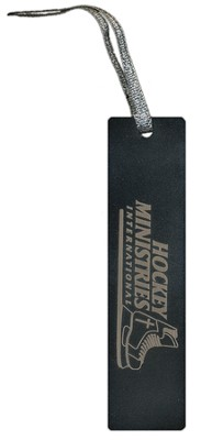 Hockey Ministries International Bookmark, Black    -