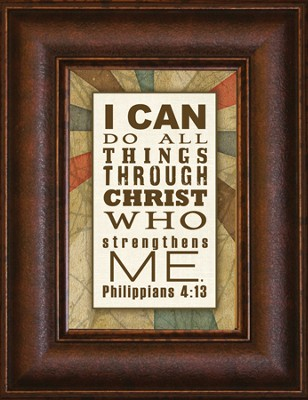 I Can Do All Things Mini Framed Print  -