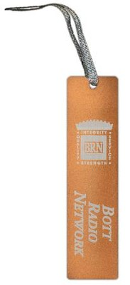 Bott Radio Network Bookmark, Orange   -