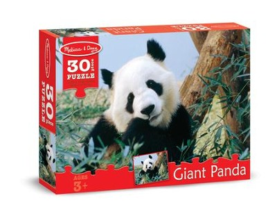 Giant Panda Jigsaw Puzzle, 30 Pieces  -