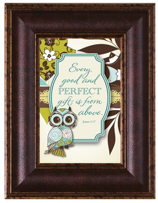 Every Good and Perfect Gift Framed Art  -