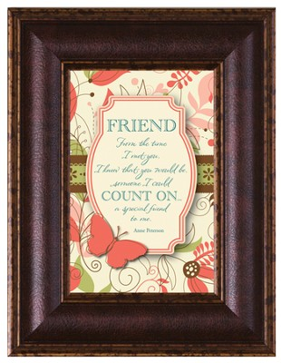 Friend, From the Time I Met You Framed Art  -