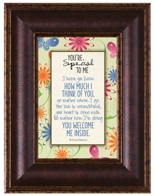 You're Special To Me Framed Art   -