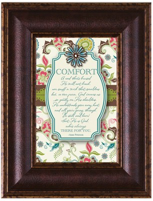 Comfort Framed Art  -