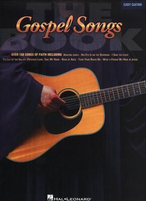 The Gospel Songs Book, Easy Guitar   -