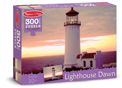 Lighthouse Dawn Jigsaw Puzzle, 300 Pieces  -
