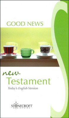 Good News New Testament - Stonecroft Edition  - Slightly Imperfect  -     By: Stonecroft Ministries