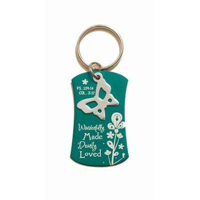 Wonderfully Made Keyring  -