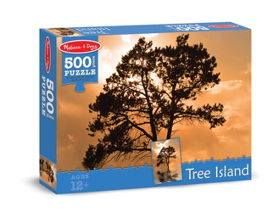 Tree Island Jigsaw Puzzle, 500 Pieces  -