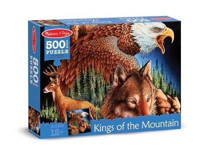King of the Mountain Jigsaw Puzzle, 500 Pieces  -