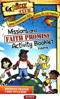 Faith Promise Missions and Activity Booklet, Volume 1   -