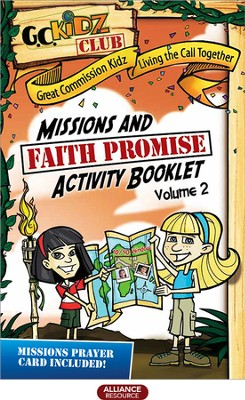 Faith Promise Missions and Activity Booklet, Volume 2   -