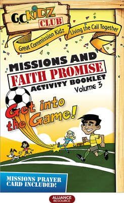 Faith Promise Missions and Activity Booklet, Volume 3   -