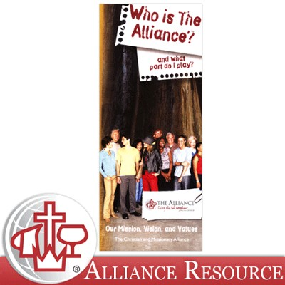 Who Is The Alliance? (Pack of 100)   -
