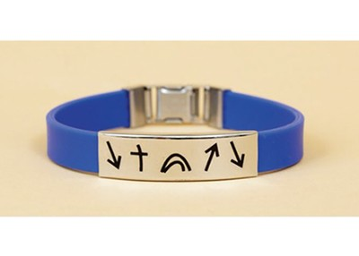 Witness Wristband, Blue  -