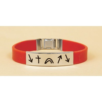 Witness Wristband, Red  -