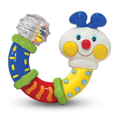 Twisting Inchworm Rattle  -