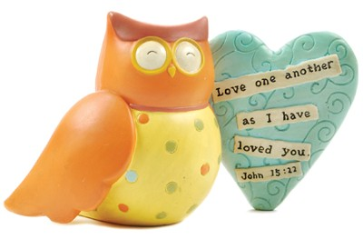 Owls, Whoooo Loves You? John 15:12  -