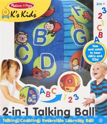 2 In 1 Talking Ball, Numbers and Letters  -