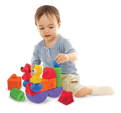 Pop Blocks Building Set  -