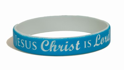 Jesus Christ Is Lord Silicone Bracelet  -
