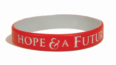Hope and A Future Silicone Bracelet  -