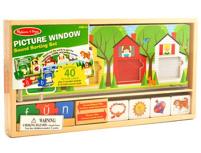 Picture Window Sound Sorting Set  -