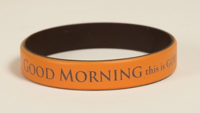 Good Morning This Is God Silicone Bracelet  -