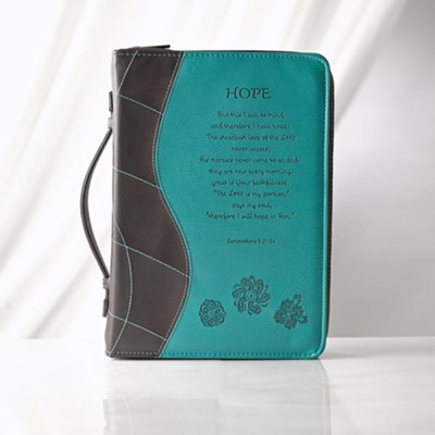 Hope, Lamentations 3:21-26 Bible Cover, Large   -