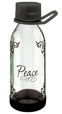 Peace I Leave With You Water Bottle, Medium  -